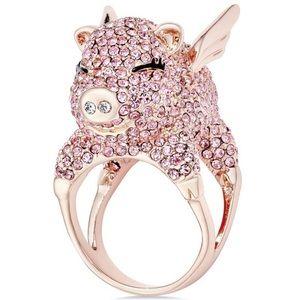 Kate Spade pig ring